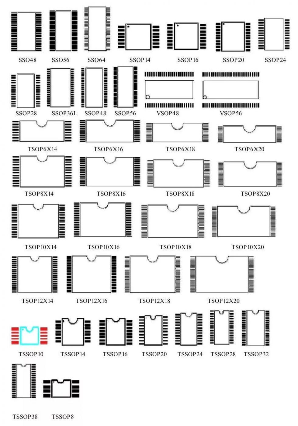 收藏!17种常用元器件的PCB封装图汇总